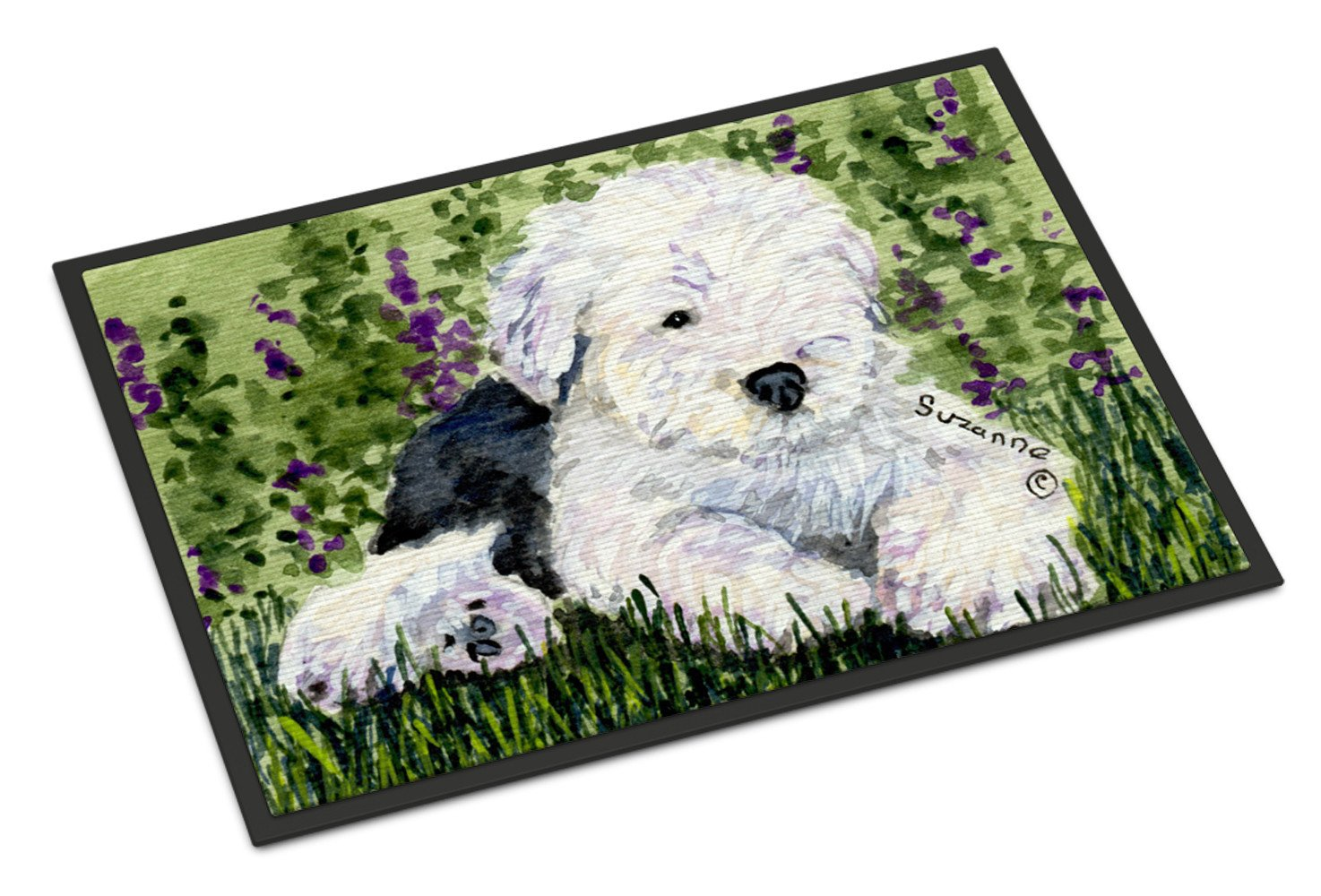 Old English Sheepdog Indoor or Outdoor Mat 18x27 Doormat - the-store.com