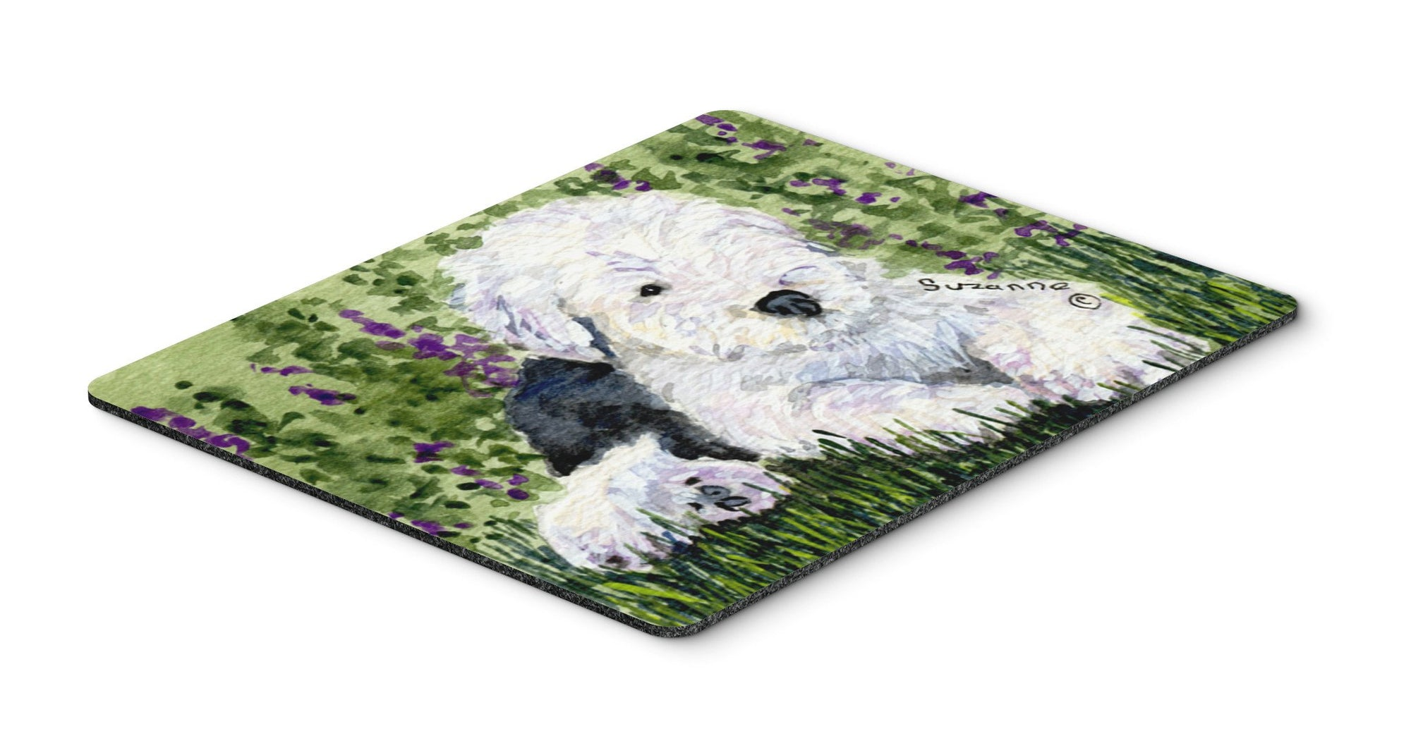 Old English Sheepdog Mouse pad, hot pad, or trivet by Caroline's Treasures