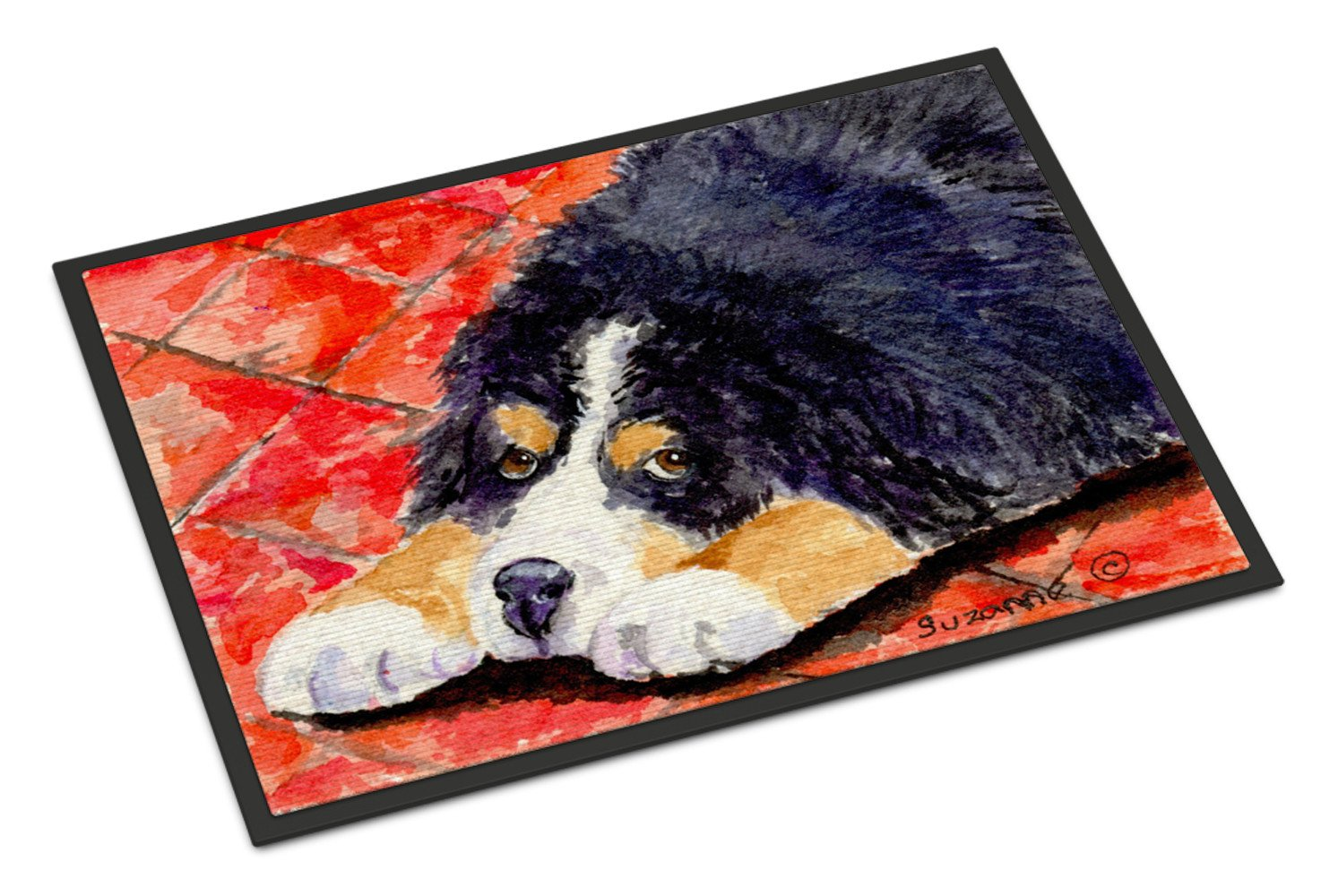 Bernese Mountain Dog Indoor or Outdoor Mat 24x36 Doormat - the-store.com
