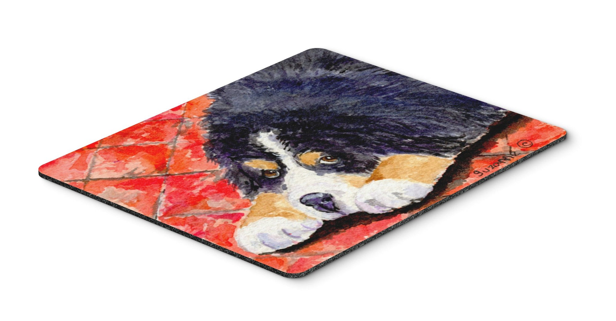 Bernese Mountain Dog Mouse pad, hot pad, or trivet by Caroline's Treasures
