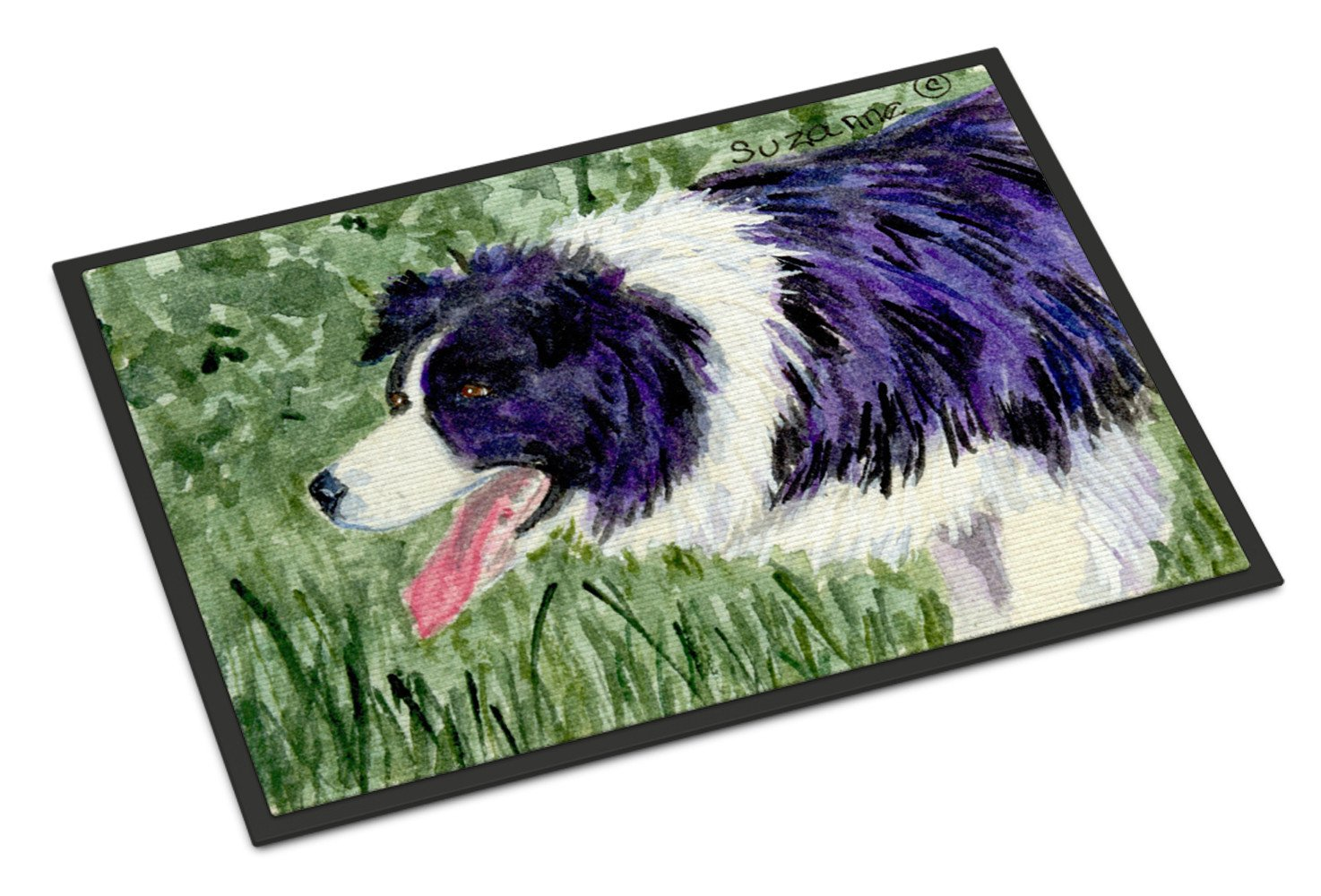 Border Collie Indoor or Outdoor Mat 18x27 Doormat - the-store.com