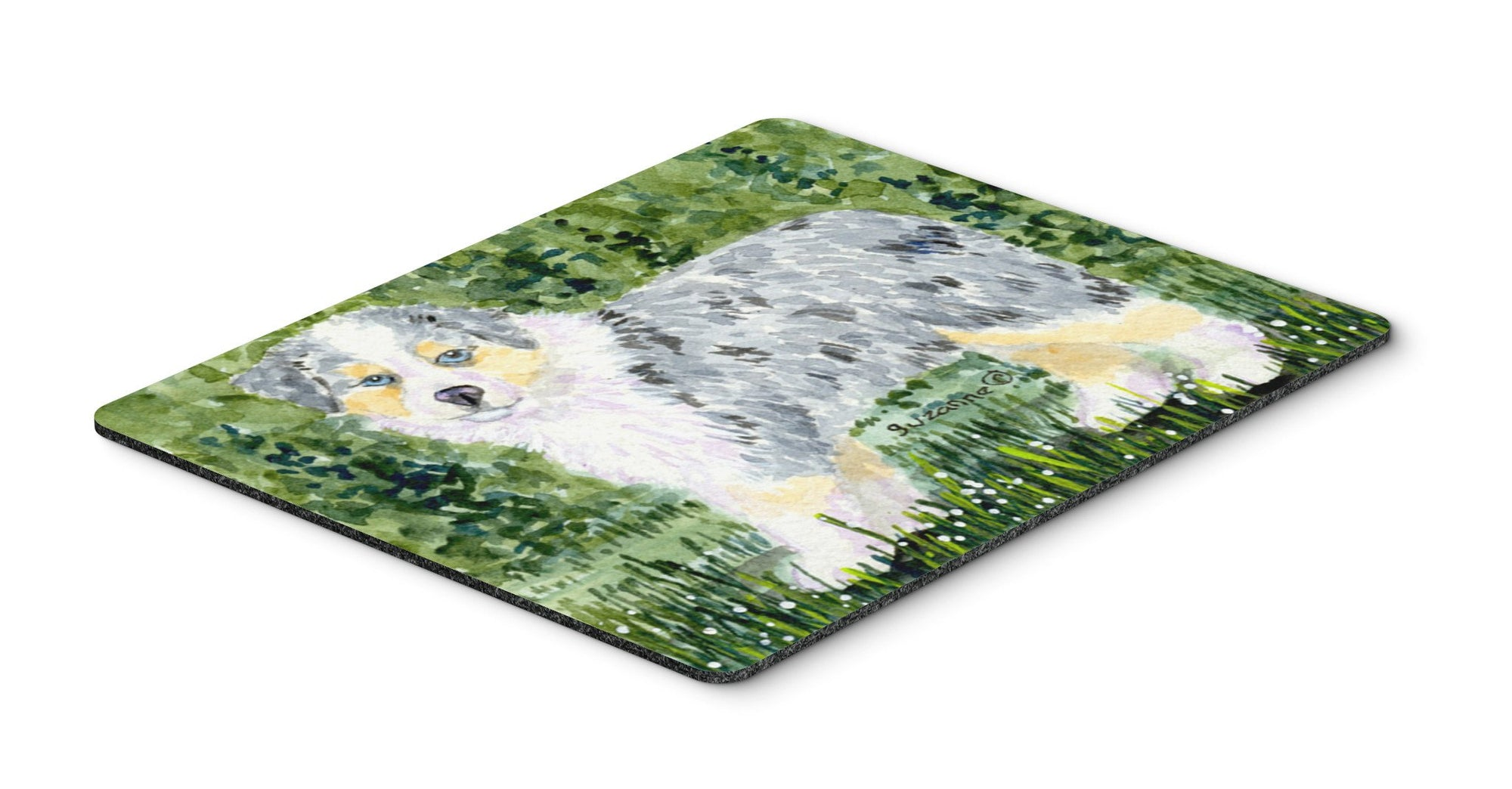 Australian Shepherd Mouse pad, hot pad, or trivet by Caroline's Treasures