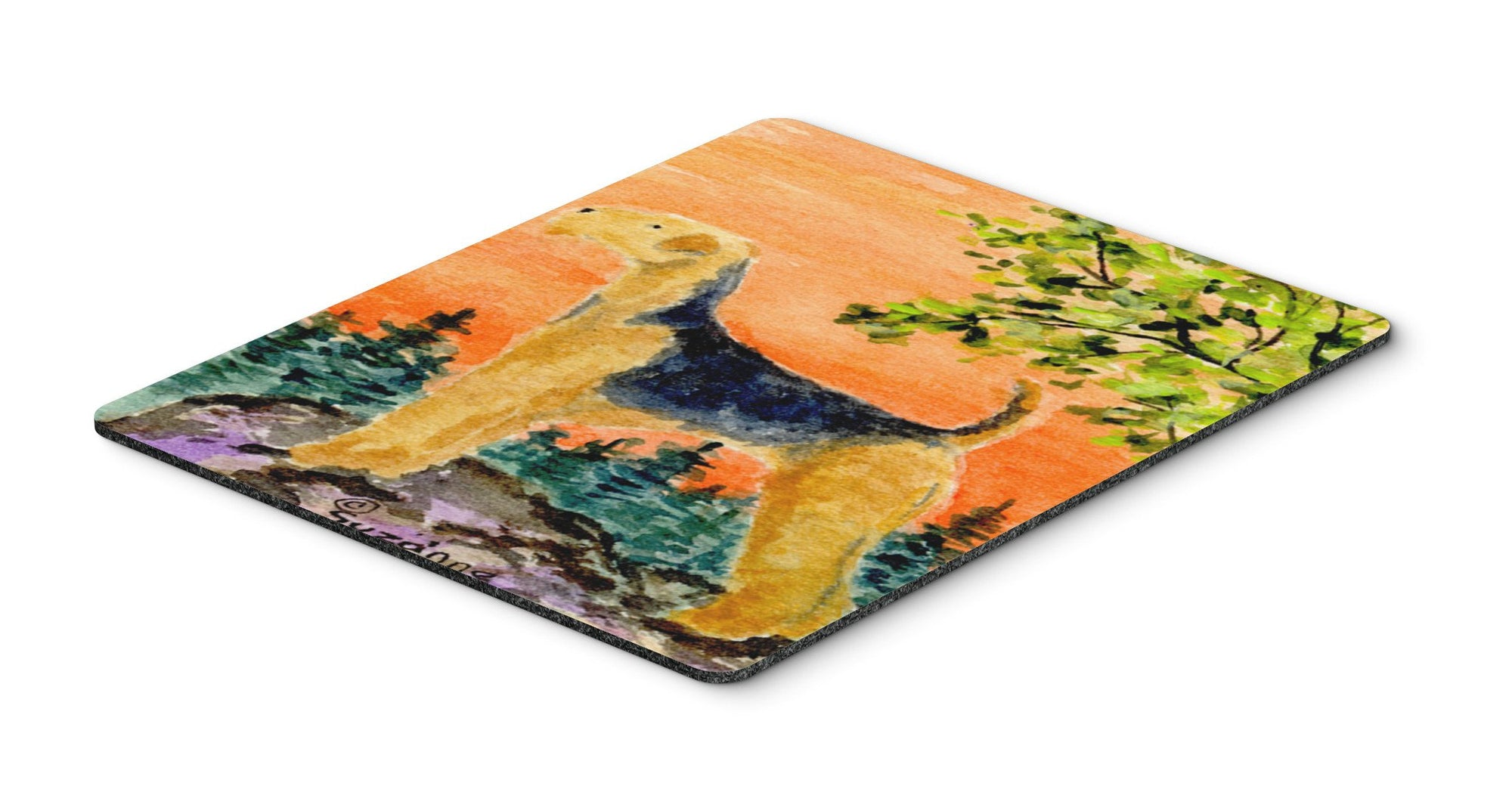 Buy this Airedale Mouse Pad / Hot Pad / Trivet