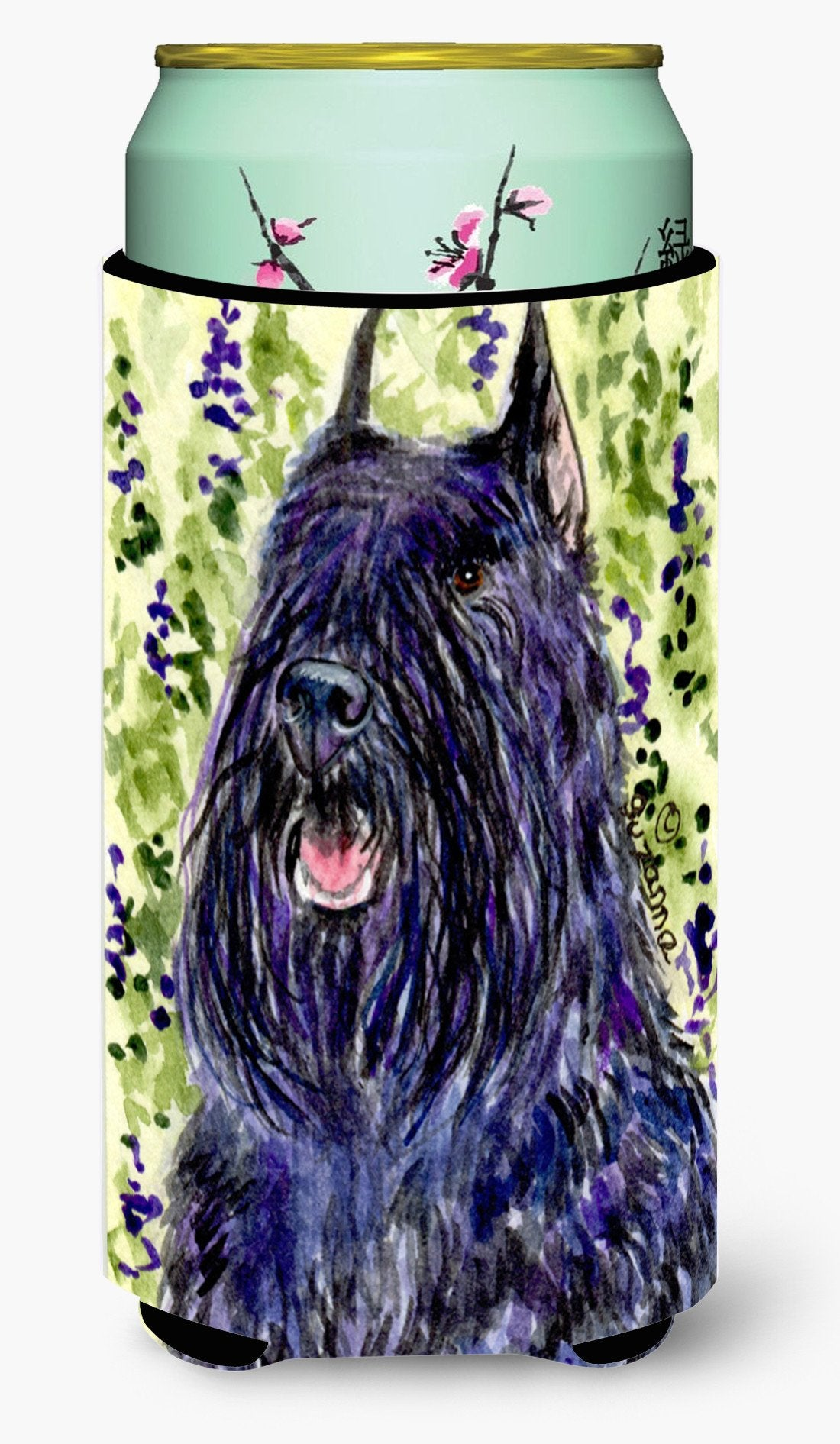 Bouvier des Flandres  Tall Boy Beverage Insulator Beverage Insulator Hugger by Caroline's Treasures