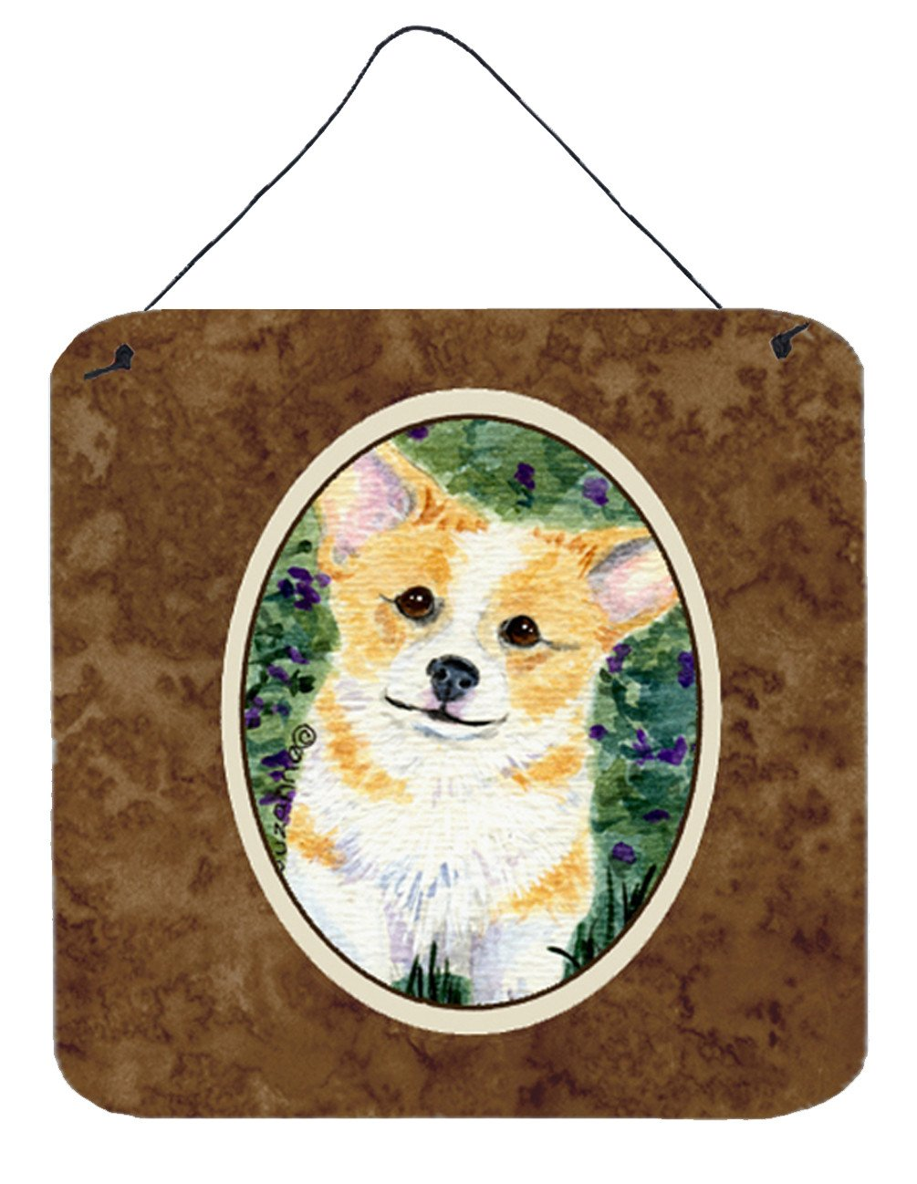 Corgi Aluminium Metal Wall or Door Hanging Prints - the-store.com