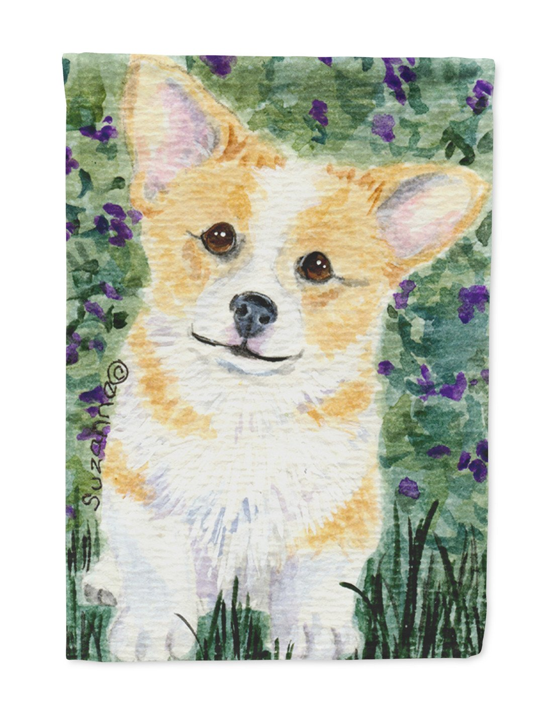 Corgi Flag Garden Size - the-store.com