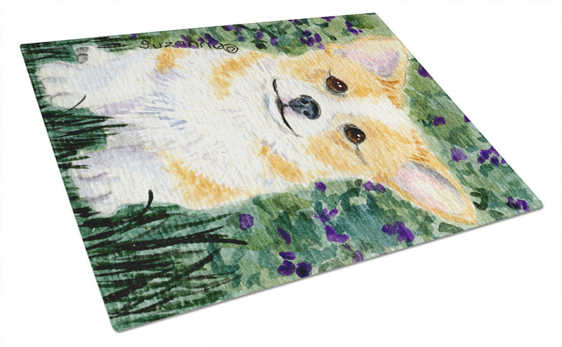 Corgi Glass Cutting Board Large - the-store.com