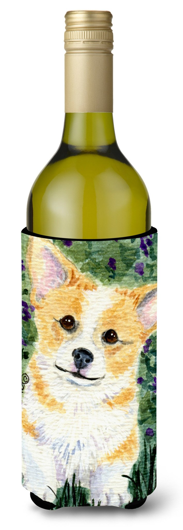 Corgi Wine Bottle Beverage Insulator Beverage Insulator Hugger SS8854LITERK - the-store.com