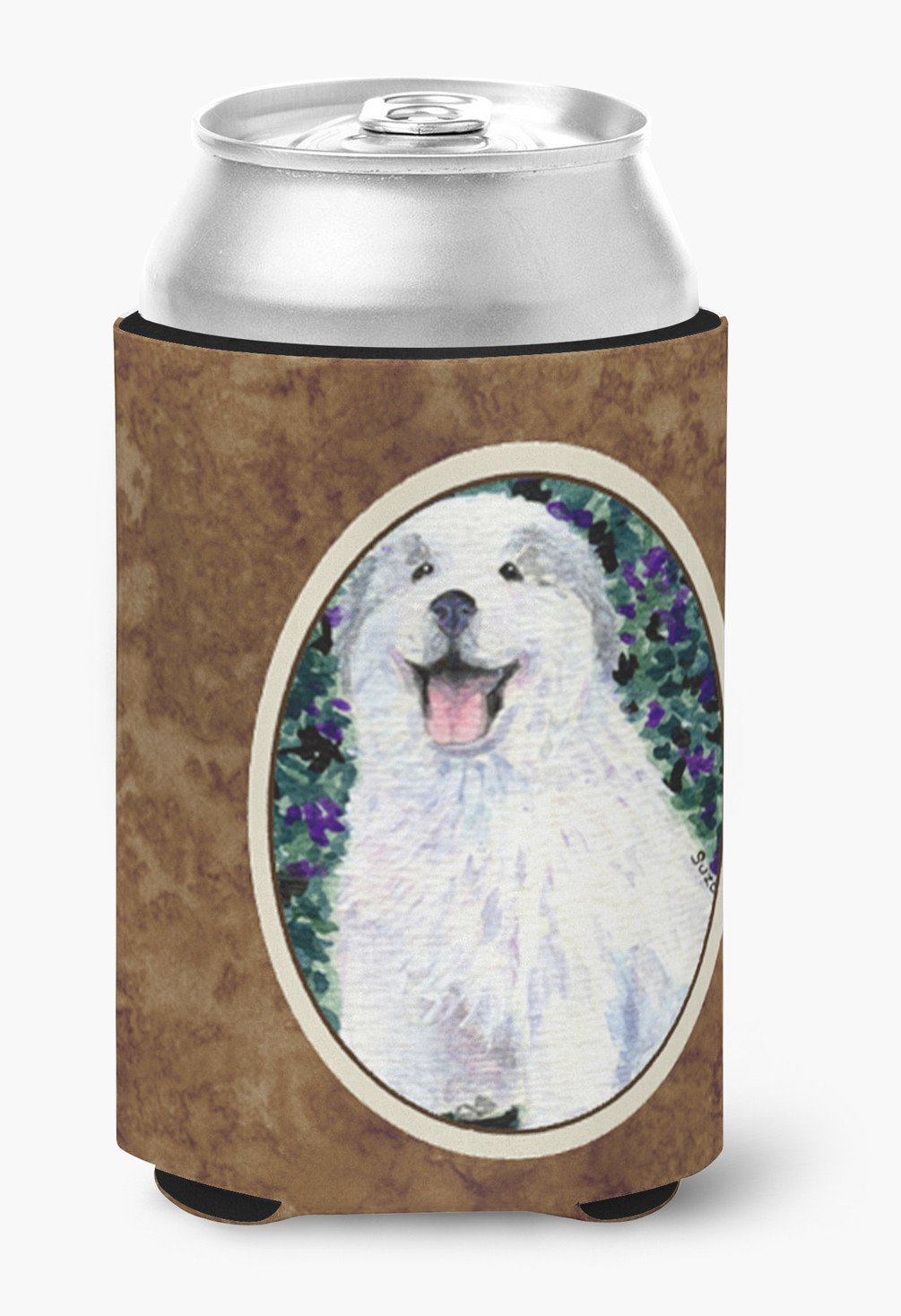 Buy this Great Pyrenees Can or Bottle Beverage Insulator Hugger