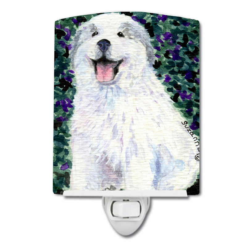 Buy this Great Pyrenees Ceramic Night Light SS8856CNL