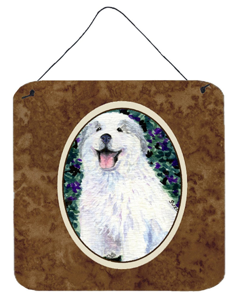 Buy this Great Pyrenees Aluminium Metal Wall or Door Hanging Prints