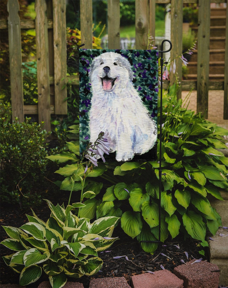 Buy this Great Pyrenees Flag Garden Size
