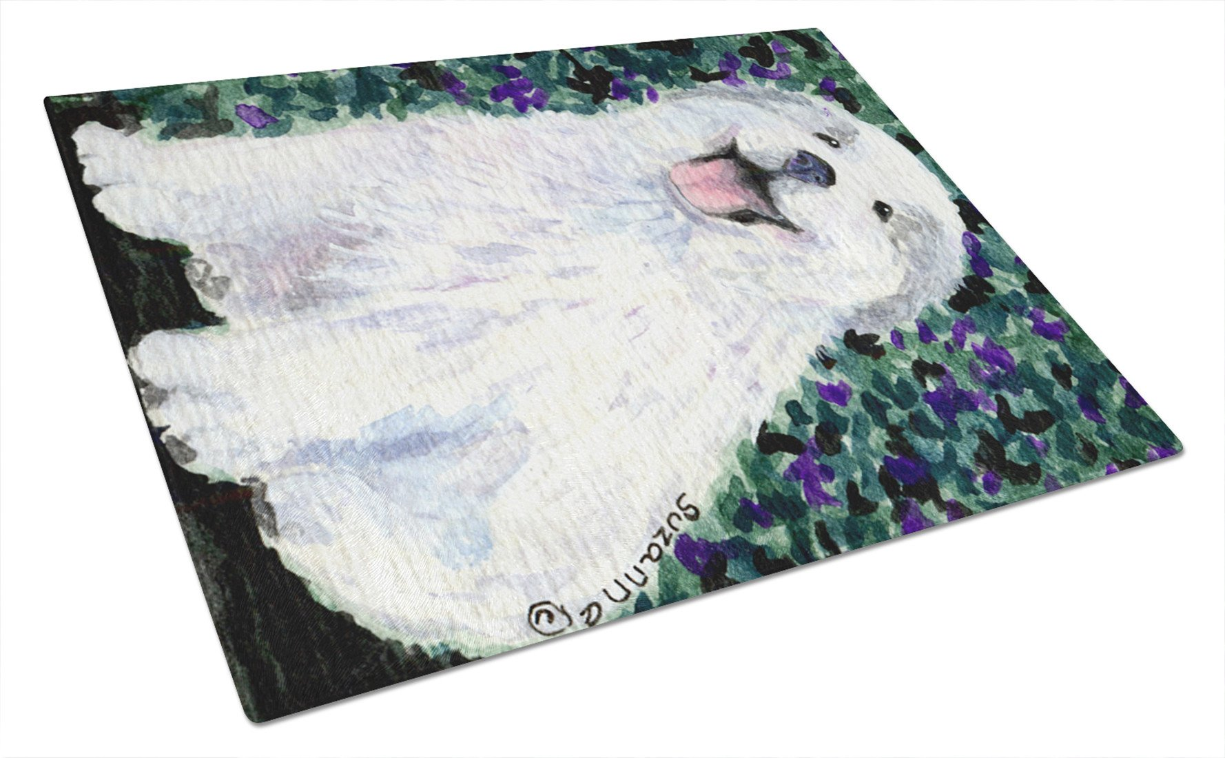 Buy this Great Pyrenees Glass Cutting Board Large