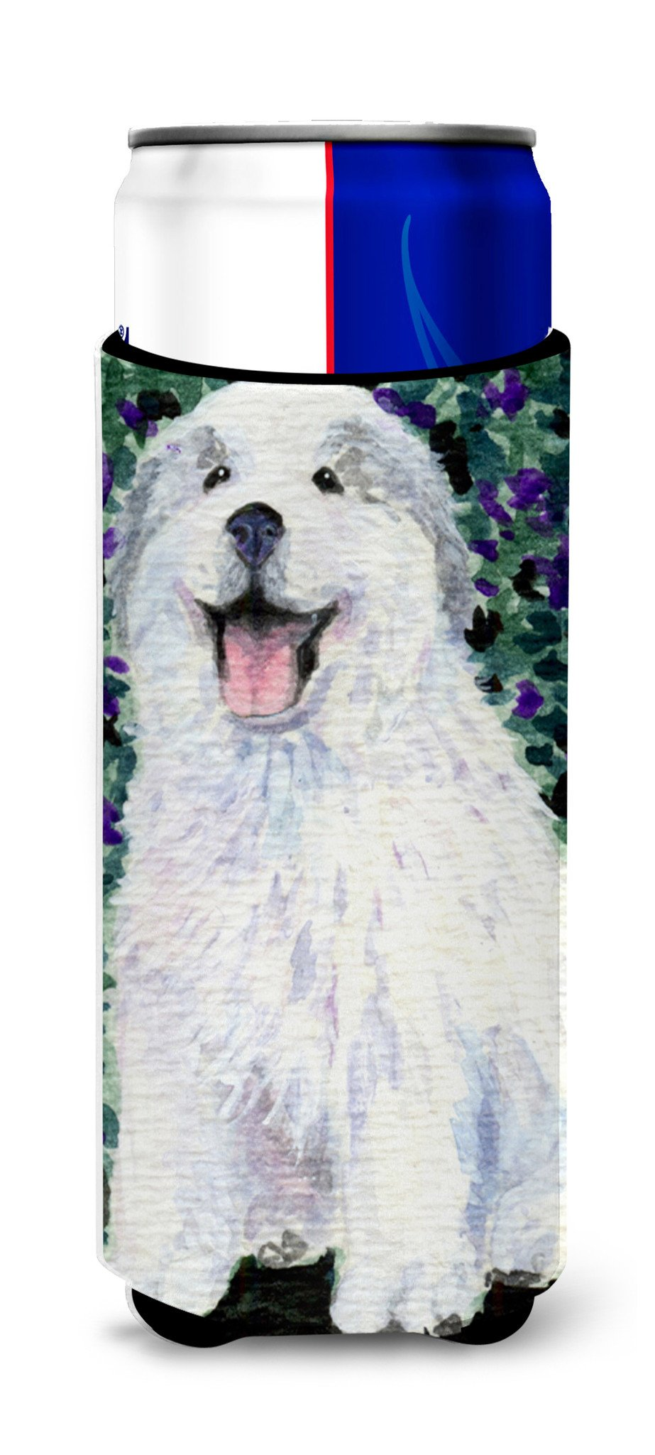 Great Pyrenees Ultra Beverage Insulators for slim cans SS8856MUK by Caroline's Treasures