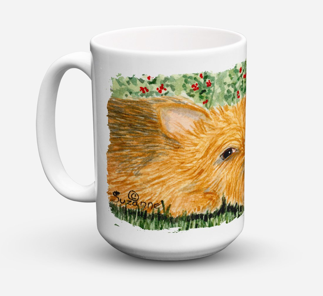 Norwich Terrier Dishwasher Safe Microwavable Ceramic Coffee Mug 15 ounce SS8862CM15 by Caroline's Treasures