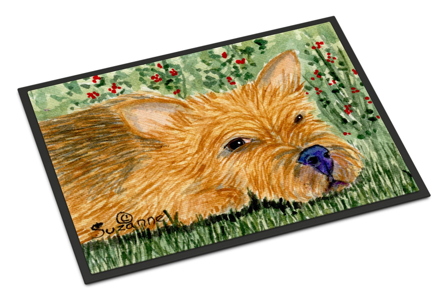 Norwich Terrier Indoor or Outdoor Mat 24x36 Doormat - the-store.com