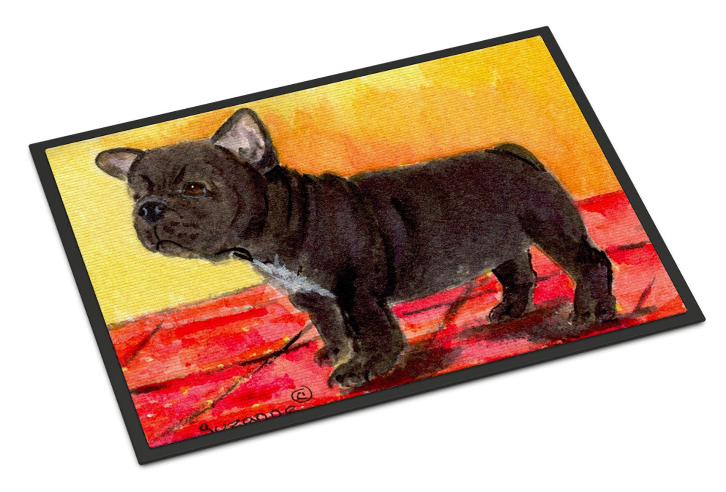 French Bulldog Indoor Outdoor Mat 18x27 Doormat by Caroline's Treasures