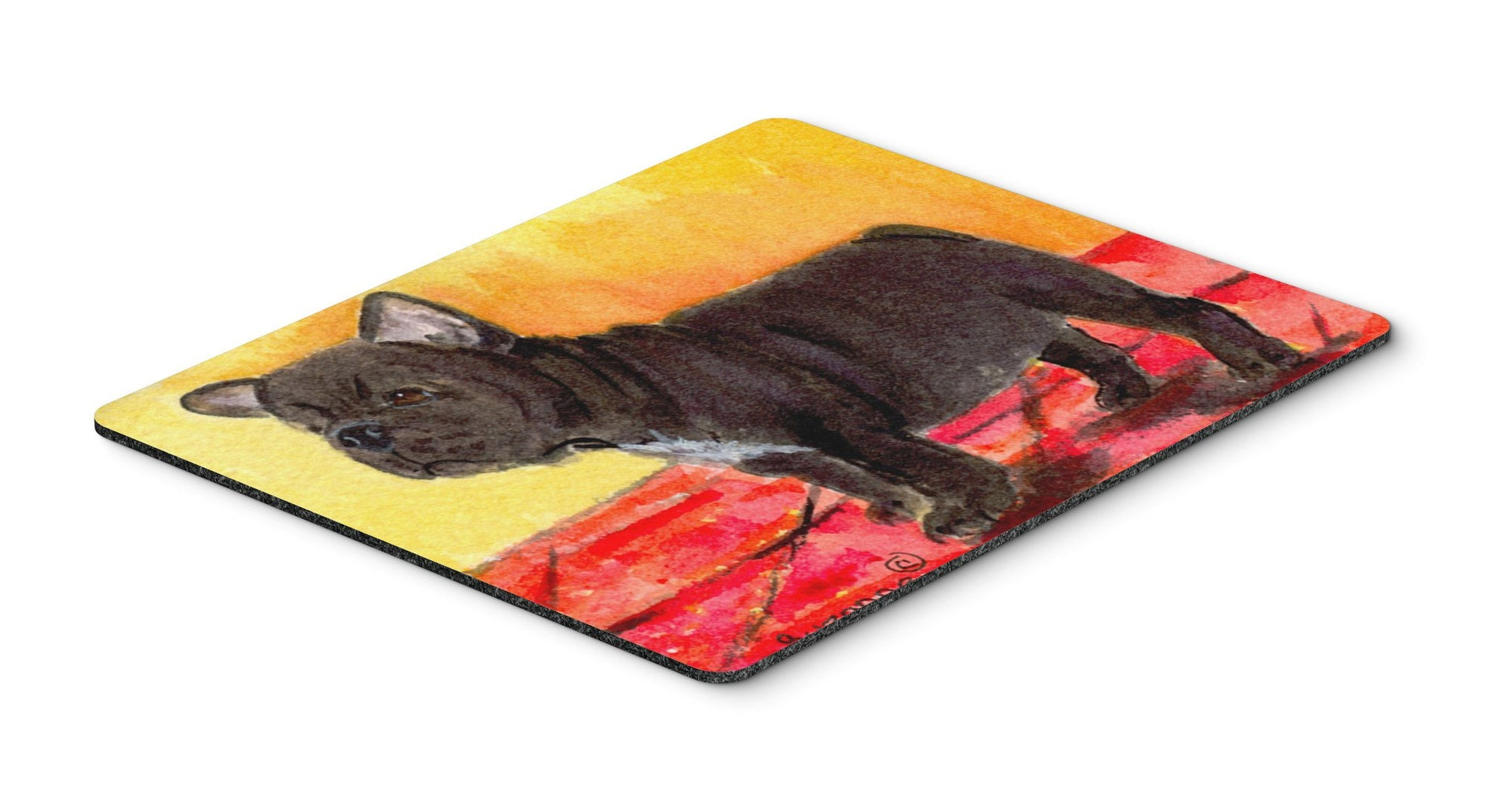 French Bulldog Mouse pad, hot pad, or trivet by Caroline's Treasures