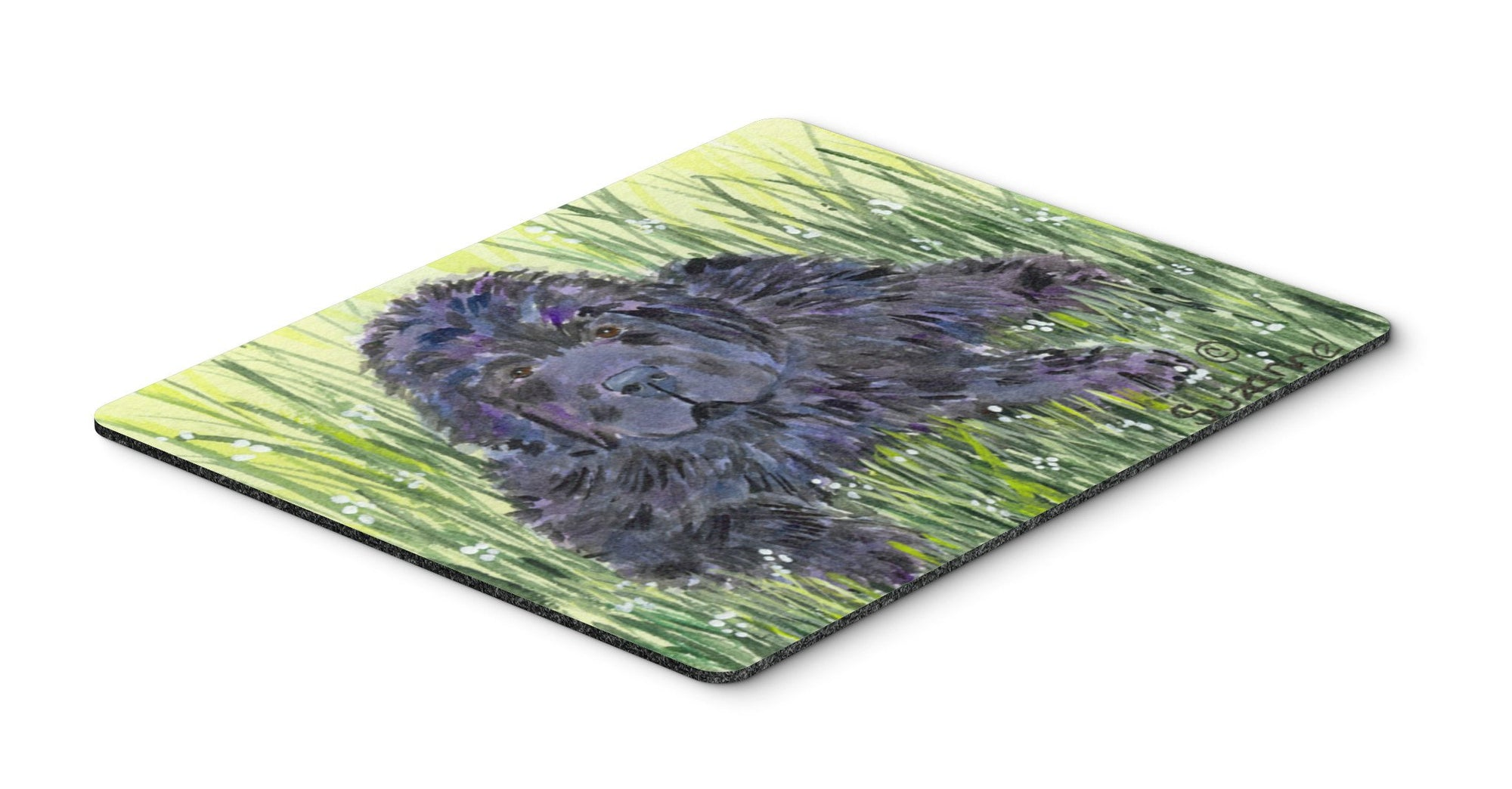 Newfoundland Mouse pad, hot pad, or trivet by Caroline's Treasures