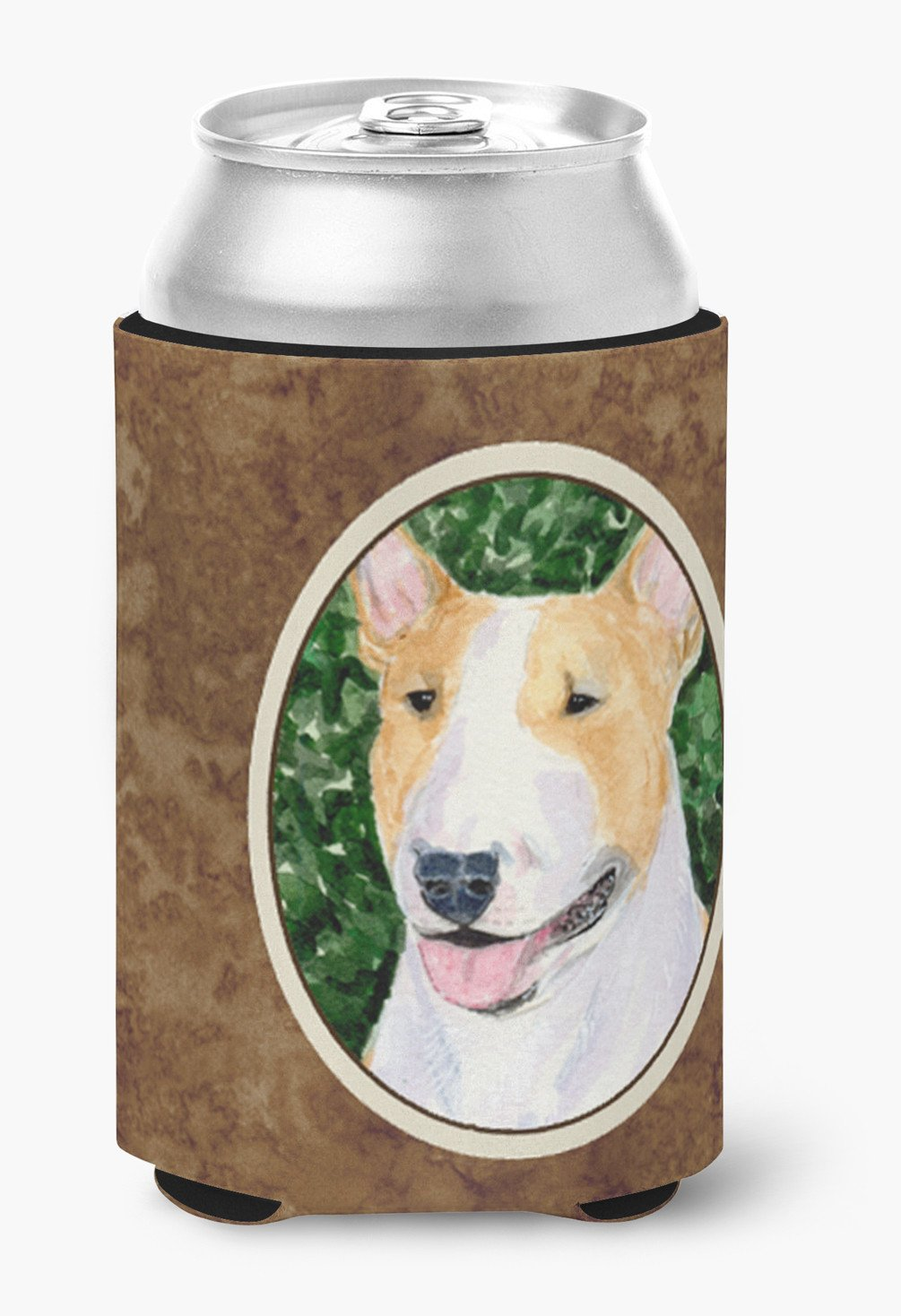 Bull Terrier Can or Bottle Beverage Insulator Hugger by Caroline's Treasures