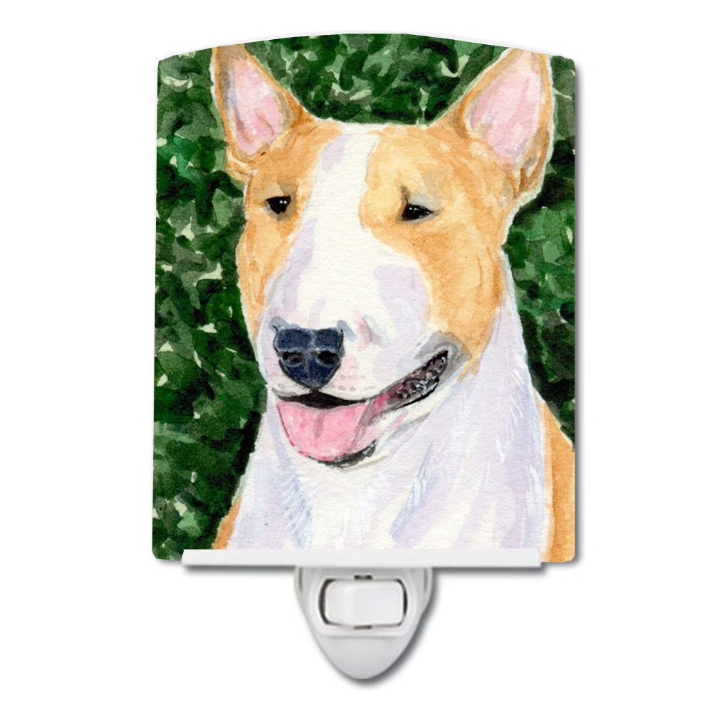 Bull Terrier Ceramic Night Light SS8873CNL by Caroline's Treasures