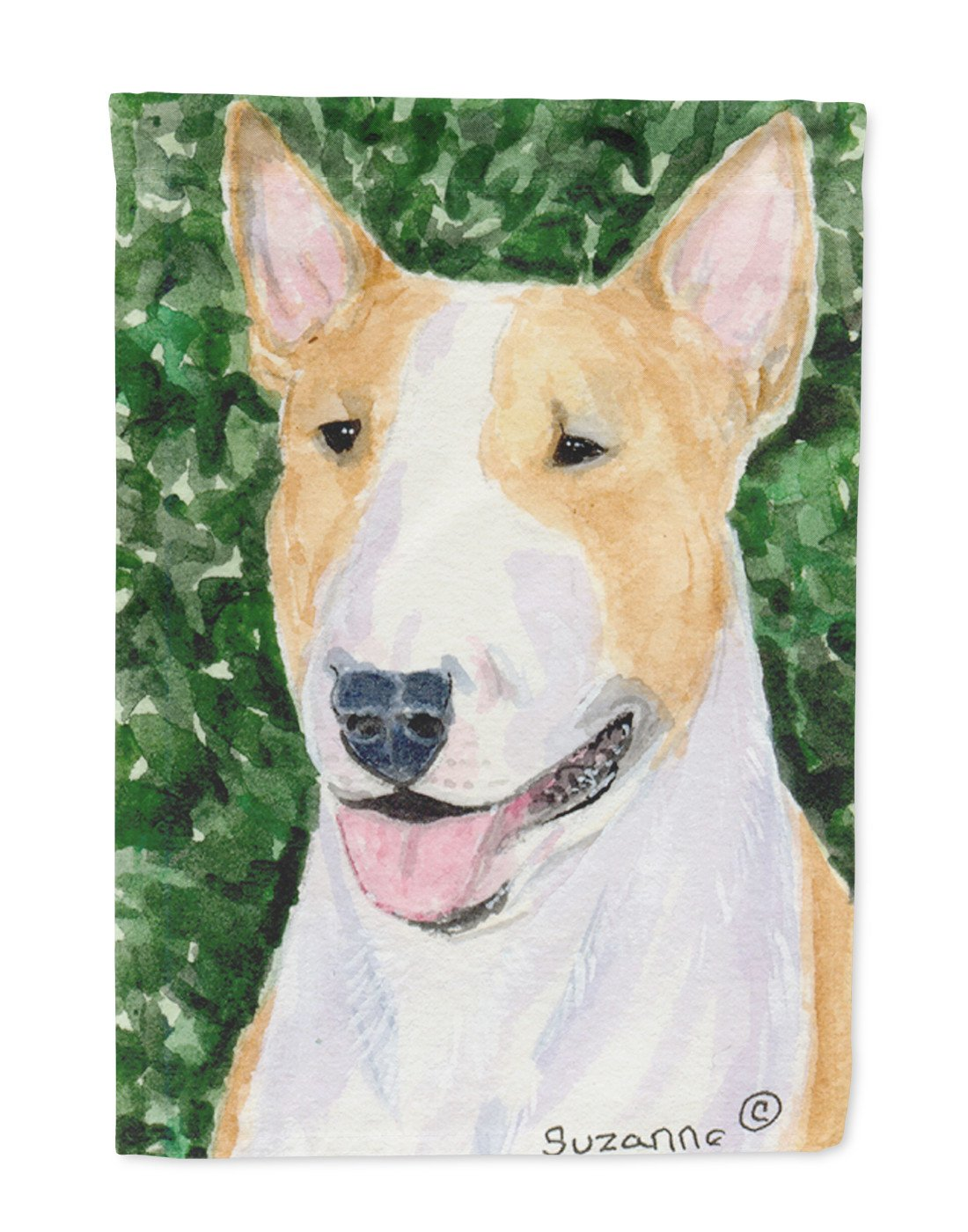 Bull Terrier Flag Garden Size - the-store.com