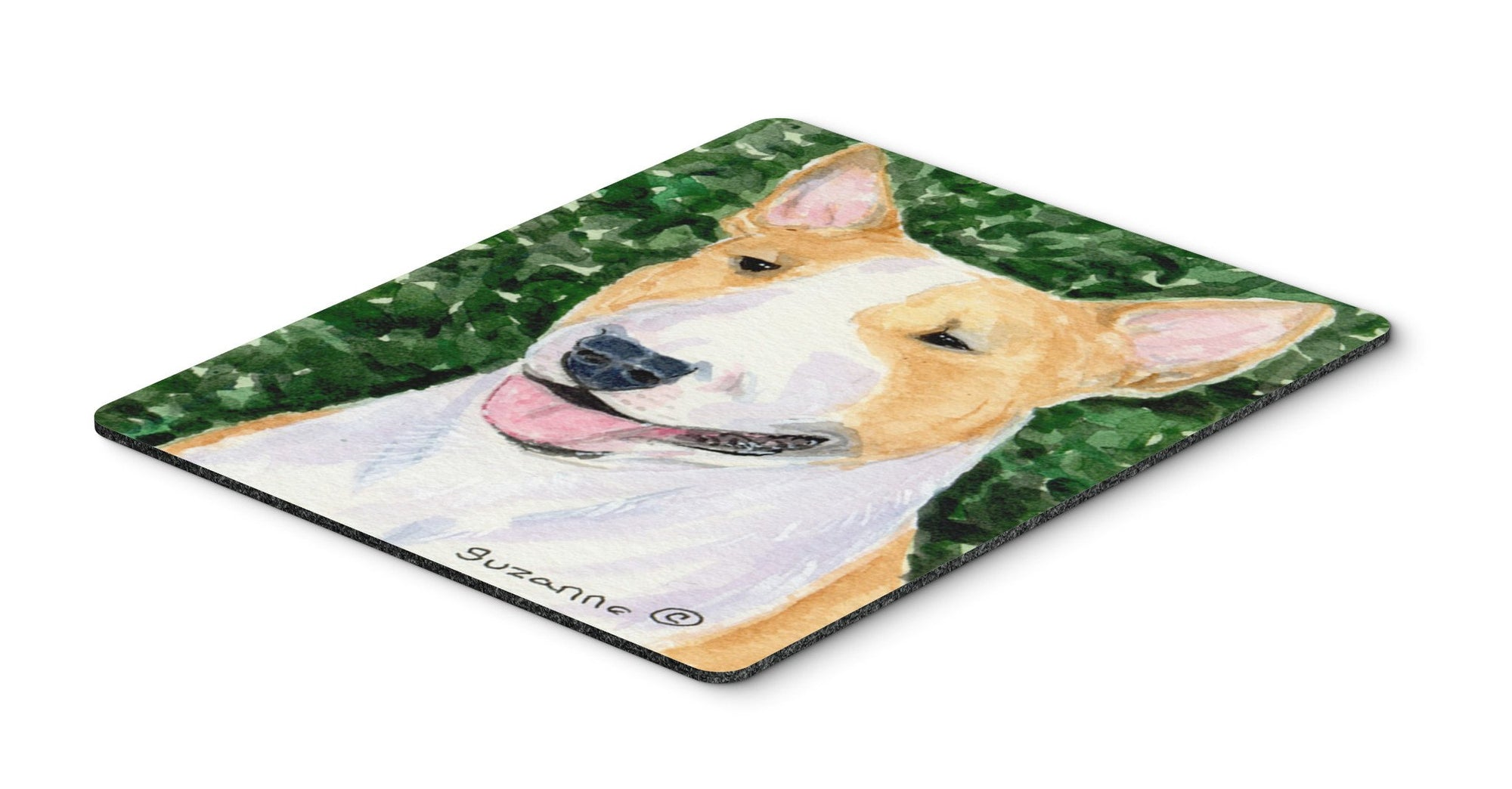 Bull Terrier Mouse Pad / Hot Pad / Trivet by Caroline's Treasures