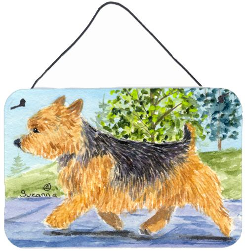 Buy this Norwich Terrier Indoor Aluminium Metal Wall or Door Hanging Prints