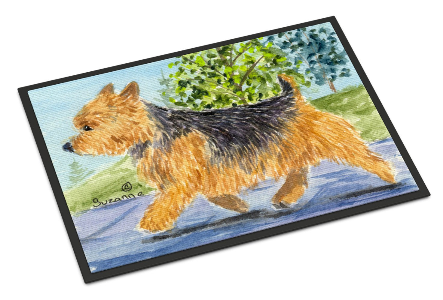 Norwich Terrier Indoor Outdoor Mat 18x27 Doormat by Caroline's Treasures