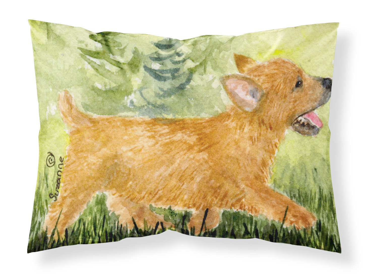 Buy this Norwich Terrier Moisture wicking Fabric standard pillowcase