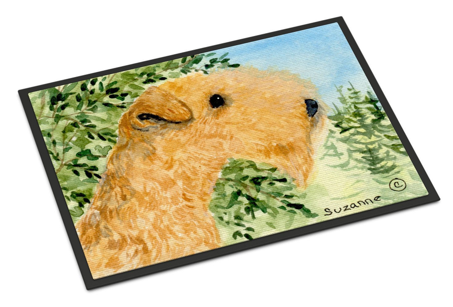 Lakeland Terrier Indoor or Outdoor Mat 24x36 Doormat - the-store.com
