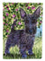 Scottish Terrier Flag Garden Size by Caroline's Treasures