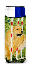 Golden Retriever Ultra Beverage Insulators for slim cans SS8906MUK by Caroline's Treasures