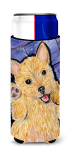 Norwich Terrier Ultra Beverage Insulators for slim cans SS8911MUK by Caroline's Treasures