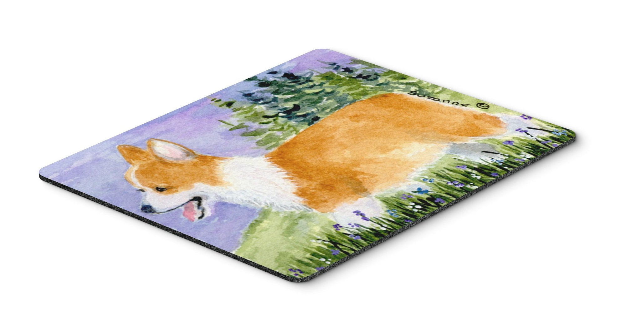Corgi Mouse pad, hot pad, or trivet by Caroline's Treasures