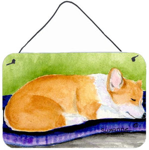 Buy this Corgi Indoor Aluminium Metal Wall or Door Hanging Prints