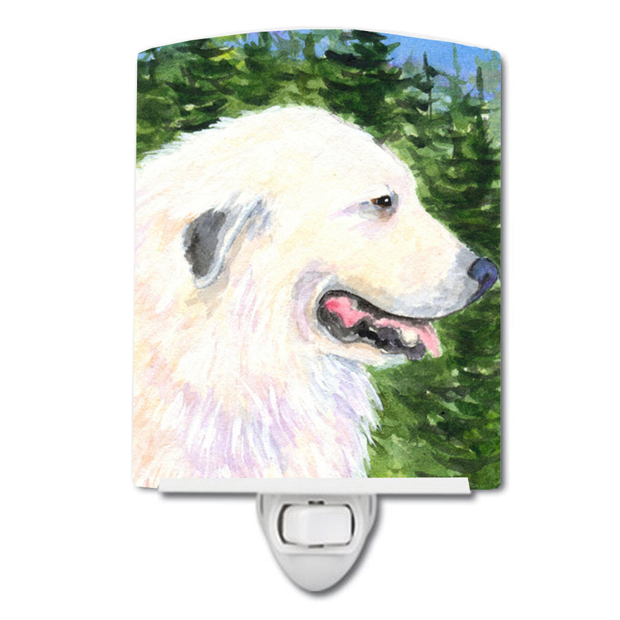 Buy this Great Pyrenees Ceramic Night Light SS8922CNL