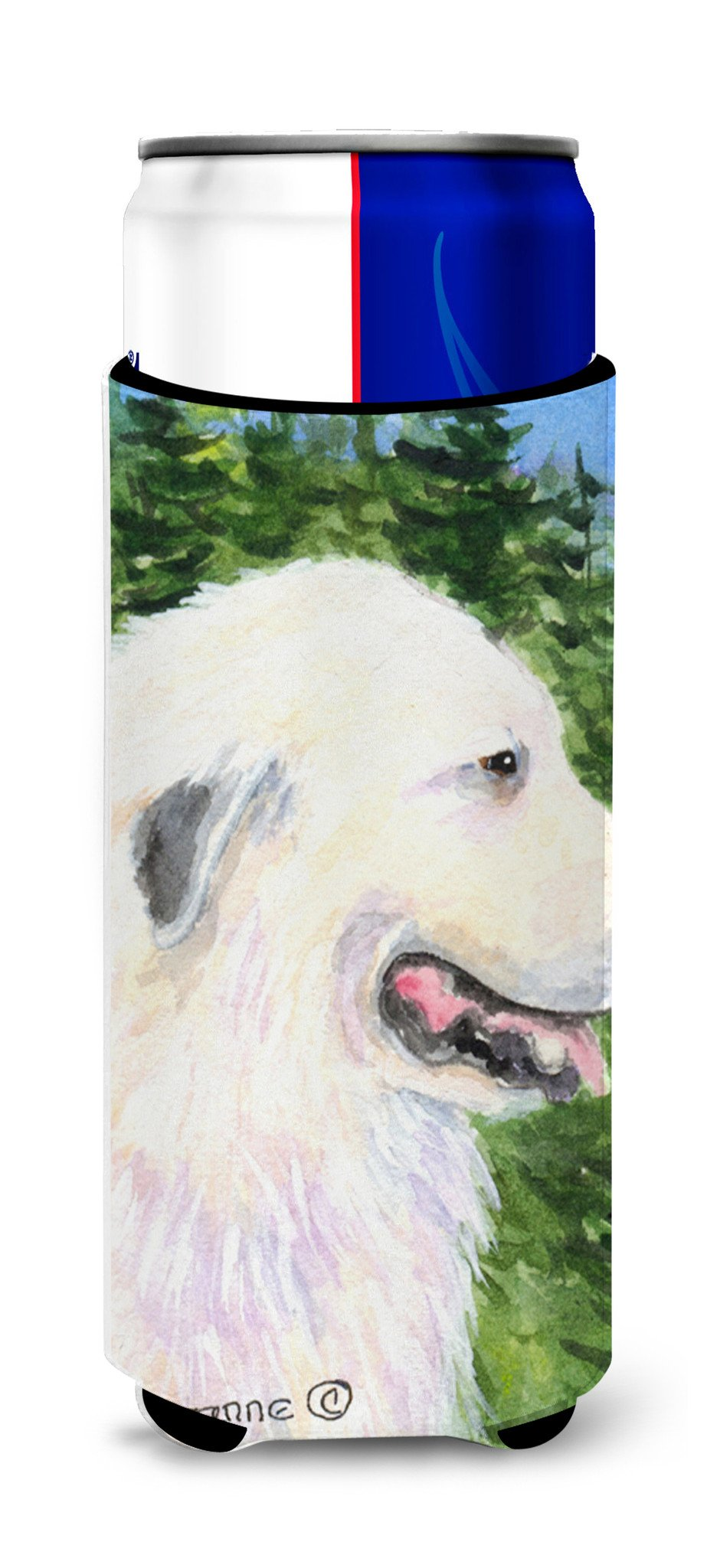 Great Pyrenees Ultra Beverage Insulators for slim cans SS8922MUK by Caroline's Treasures
