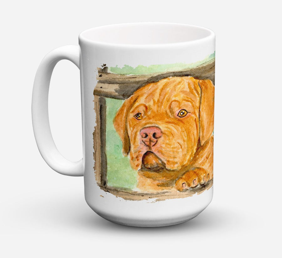 Buy this Dogue de Bordeaux Dishwasher Safe Microwavable Ceramic Coffee Mug 15 ounce SS8926CM15