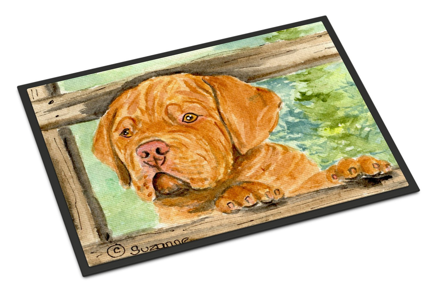 Dogue de Bordeaux Indoor or Outdoor Mat 24x36 Doormat by Caroline's Treasures