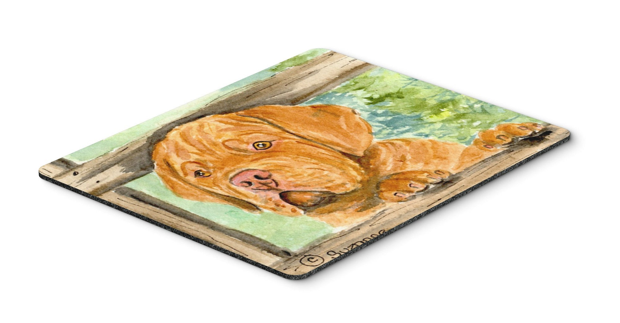 Dogue de Bordeaux Mouse pad, hot pad, or trivet by Caroline's Treasures