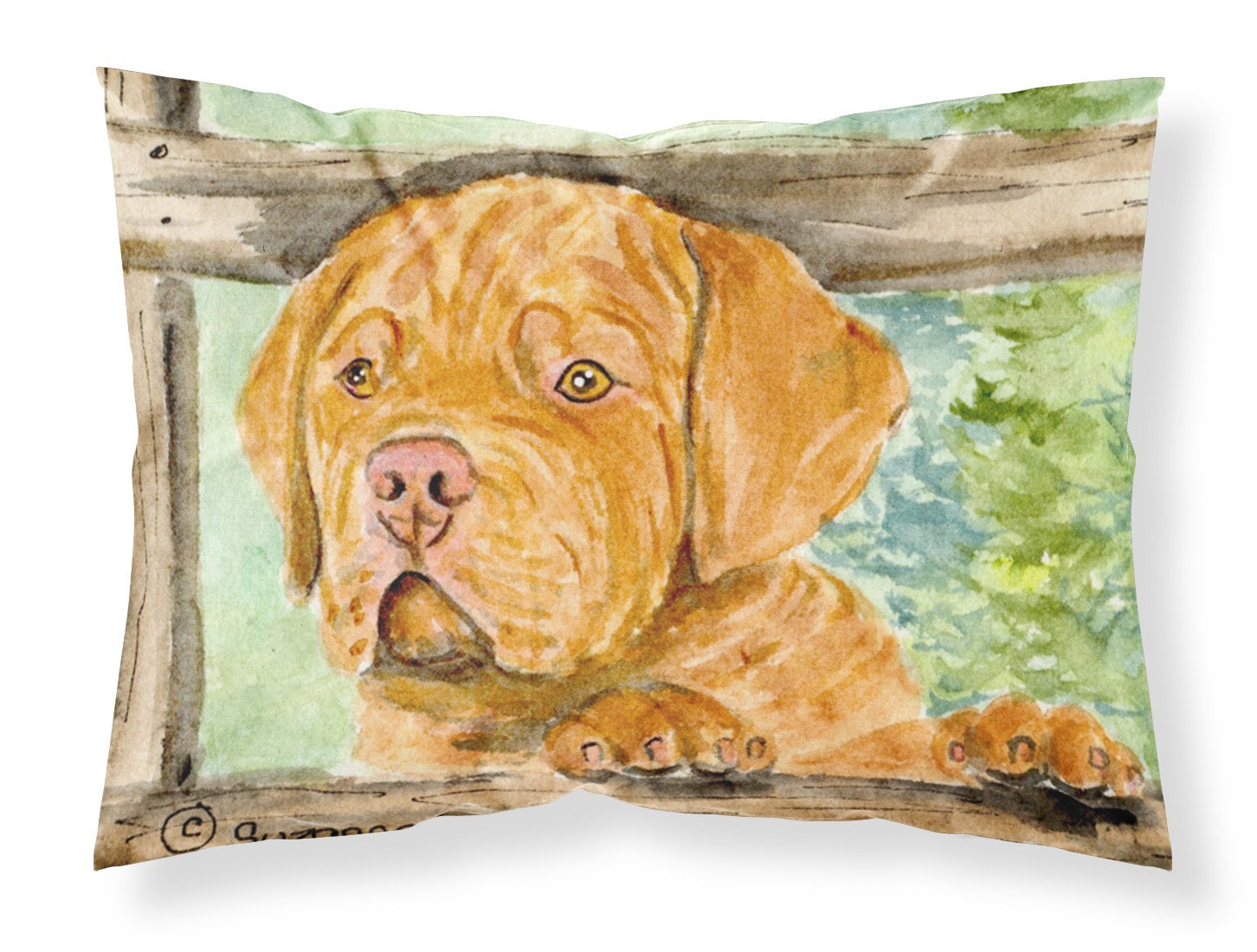 Dogue de Bordeaux Moisture wicking Fabric standard pillowcase by Caroline's Treasures
