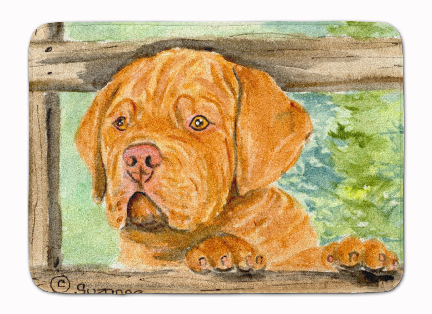 Dogue de Bordeaux Machine Washable Memory Foam Mat SS8926RUG by Caroline's Treasures
