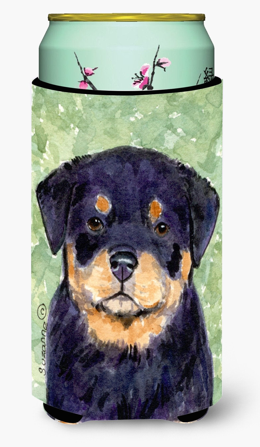 Rottweiler  Tall Boy Beverage Insulator Beverage Insulator Hugger by Caroline's Treasures