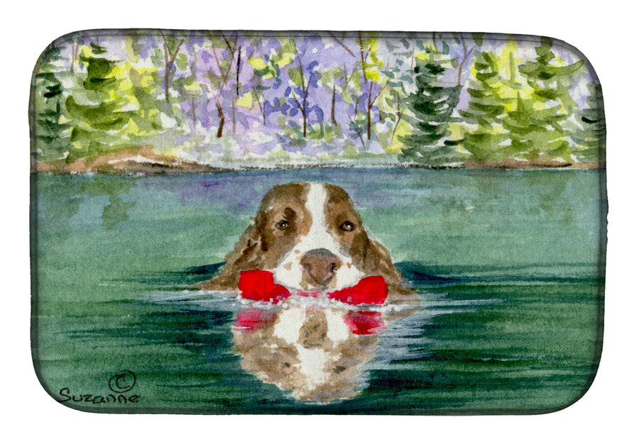 Buy this Springer Spaniel Dish Drying Mat SS8943DDM