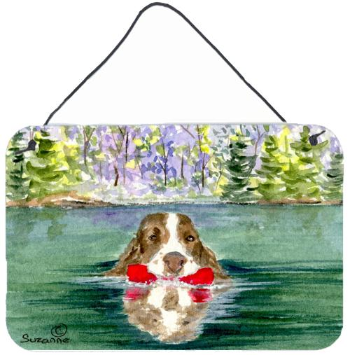 Buy this Springer Spaniel Indoor Aluminium Metal Wall or Door Hanging Prints