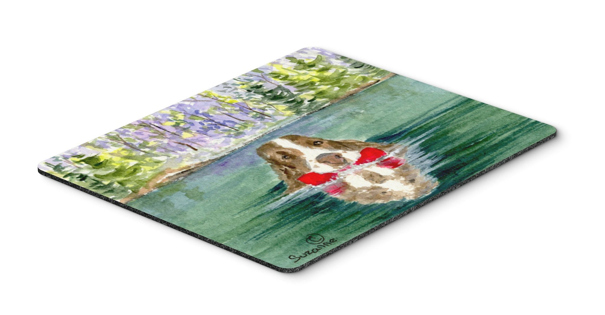 Springer Spaniel Mouse pad, hot pad, or trivet by Caroline's Treasures