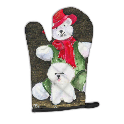 Buy this Bichon Frise with Teddy Bear Oven Mitt SS8948OVMT