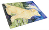Golden Retriever Glass Cutting Board Large by Caroline's Treasures