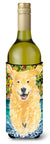 Golden Retriever Wine Bottle Beverage Insulator Beverage Insulator Hugger SS8978LITERK by Caroline's Treasures